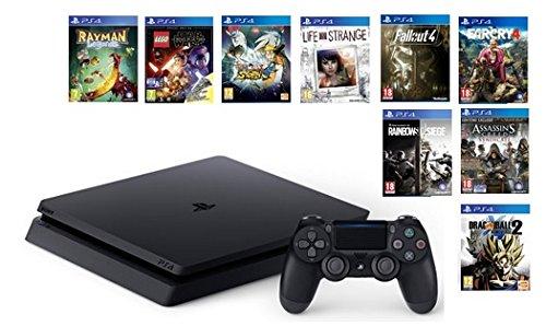 bon plan ps4 une console 500 go et 9 jeux pour 399 seulement gamergen com. Black Bedroom Furniture Sets. Home Design Ideas